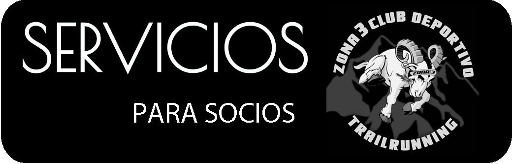 SERVICIOS PARA SOCIOS DE ZONA 3 CLUB DEPORTIVO