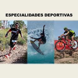 Especialidades deportivas