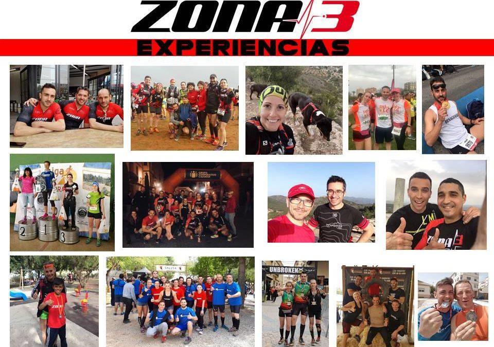 Todas las disciplinas que forman nuestra gran familia Zona3 fitness