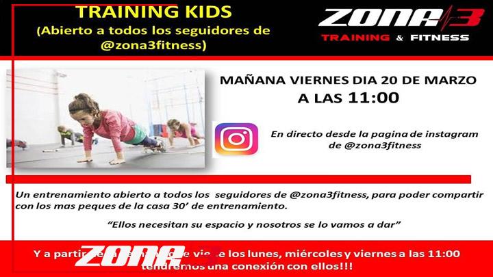 Training kids, queremos compartir esta iniciativa con todos nuestros seguidores