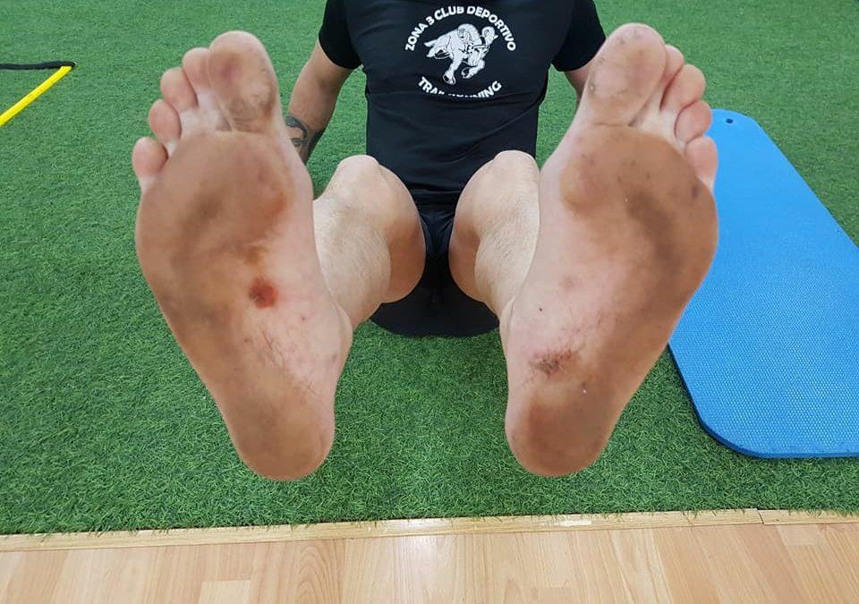 Correr descalzo y más por montaña requiere una preparación mas que exigente