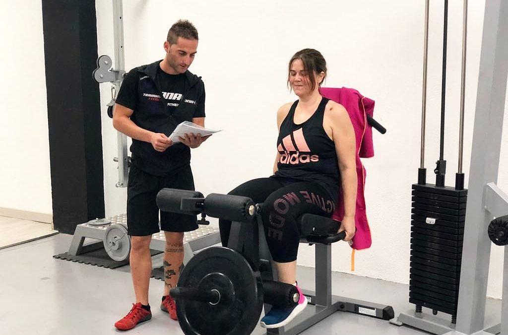 El entrenamiento personal es un servicio exclusivo