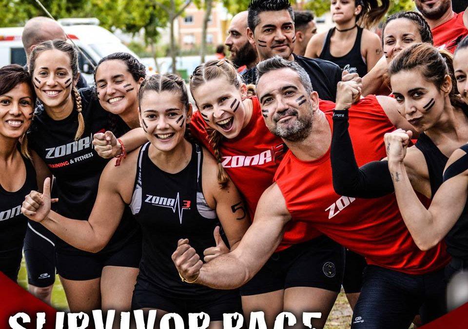 Nuestro equipo#OCRen la salida deSurvivor Raceen Gandía